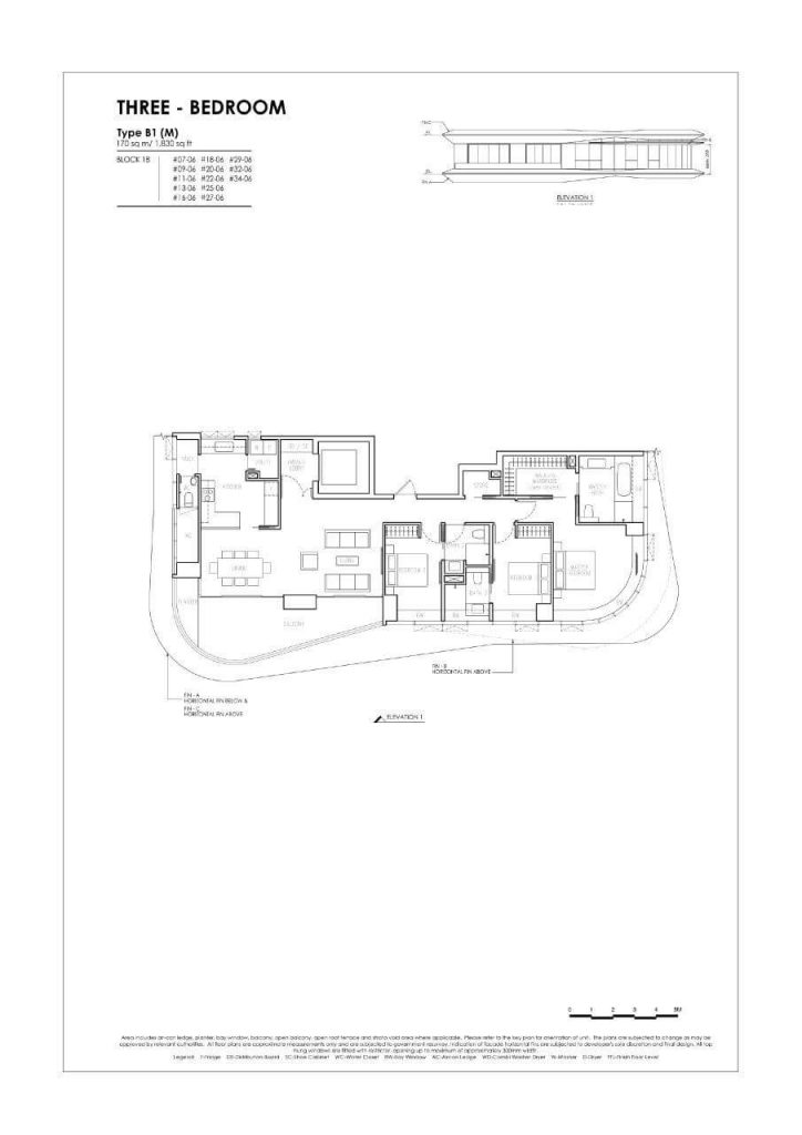 New Futura - Floor Plans - 3 Bedroom - Type B1
